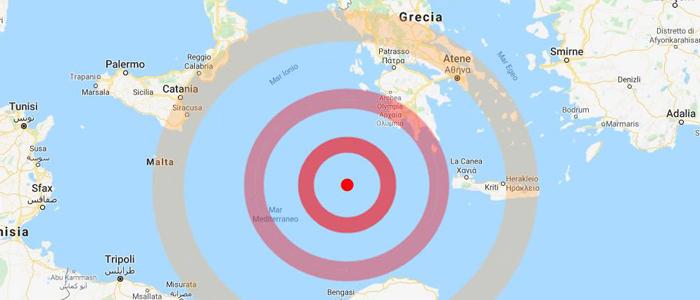 Terremoto in Grecia, trema anche la Sicilia