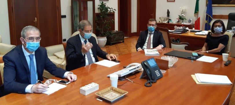"""Musumeci a Roma per sollecitare i ministri: """"In Sicilia strade e trasporti inaccettabili"""""""