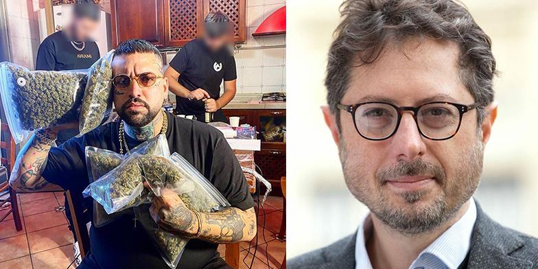 Il cantante catanese attaccato sui social