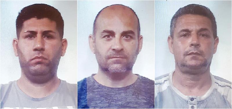 Smantellavano auto rubate: tre arresti