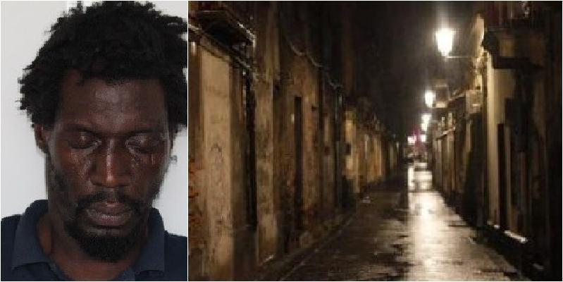 Catania, ancora lui: rapina un turista e gli colpisce l'occhio con una bottiglia