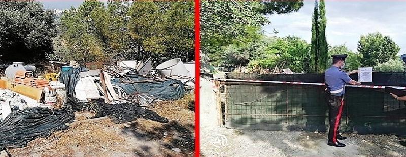 Mineo, sequestrata bomba ecologica