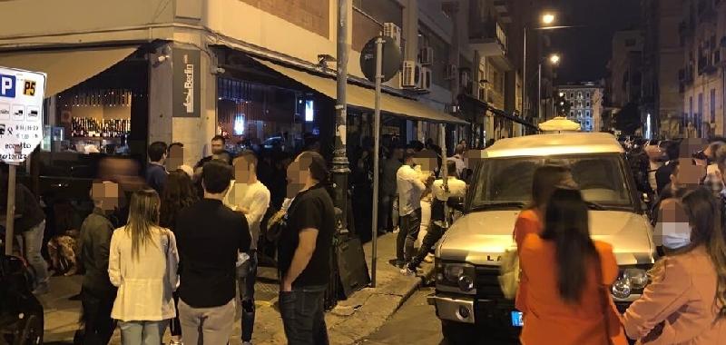 Movida eccessiva, chiusi 4 locali a Palermo