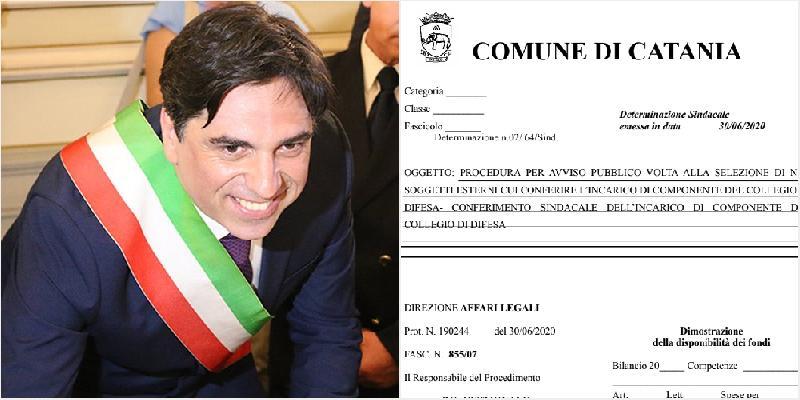 Catania, 5 nuovi consulenti in Comune