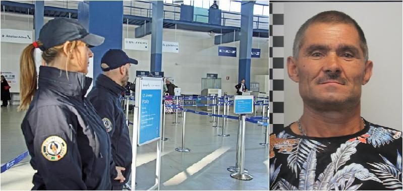 Era in partenza per Bucarest: catturato