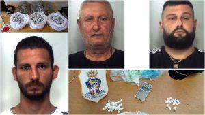 Droga e bimbi, tre arresti a Catania