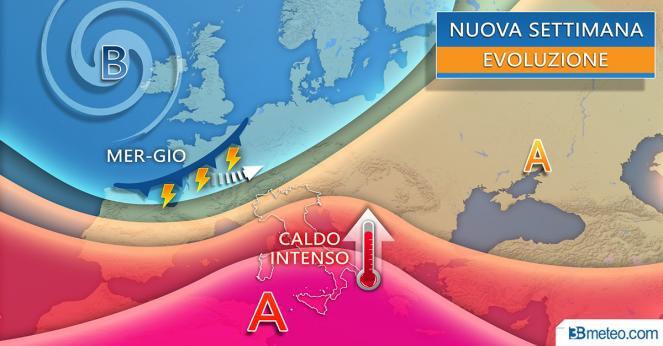 Sicilia, una settimana di febbre a 40°