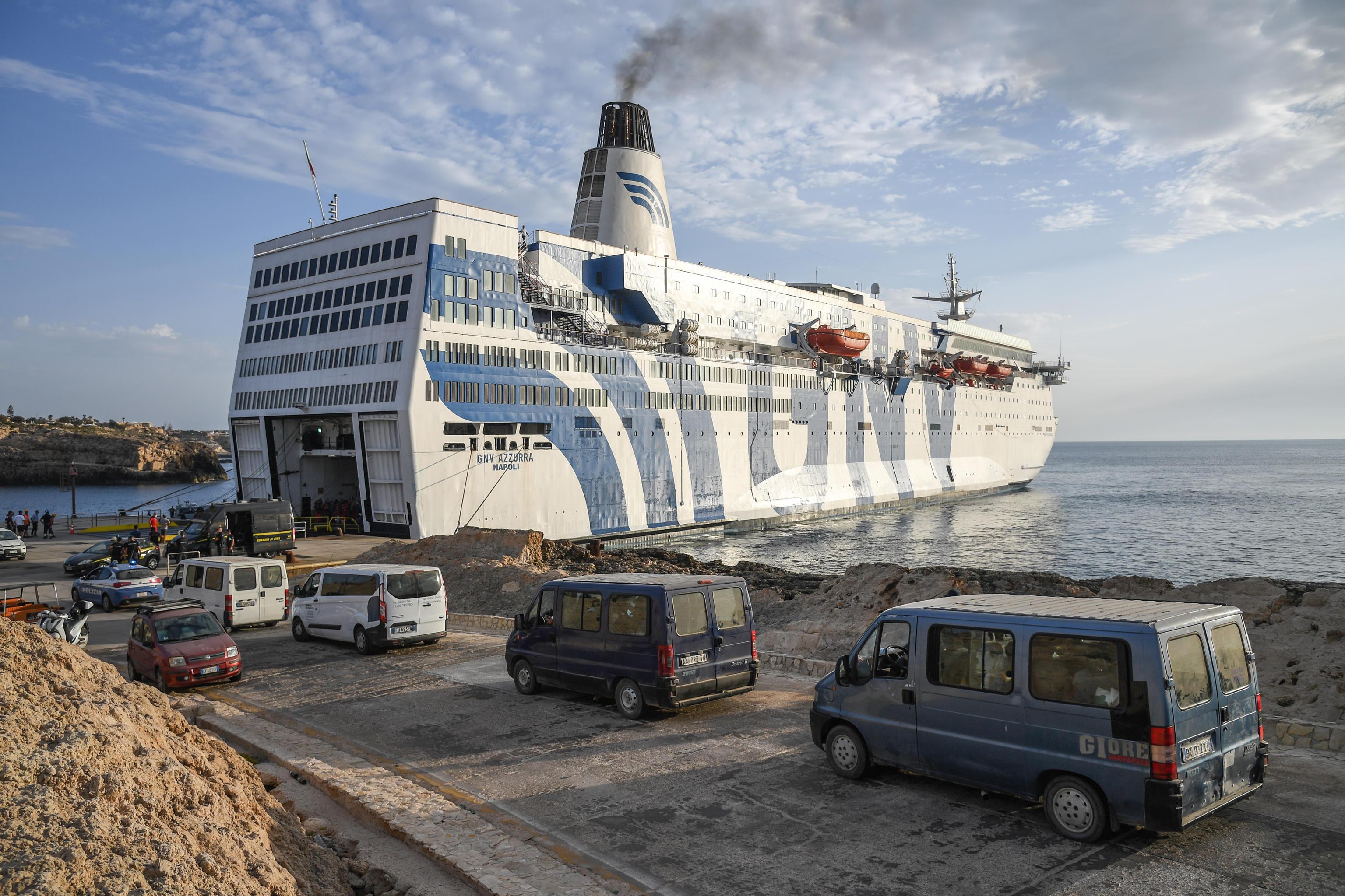Lampedusa, restano in 172