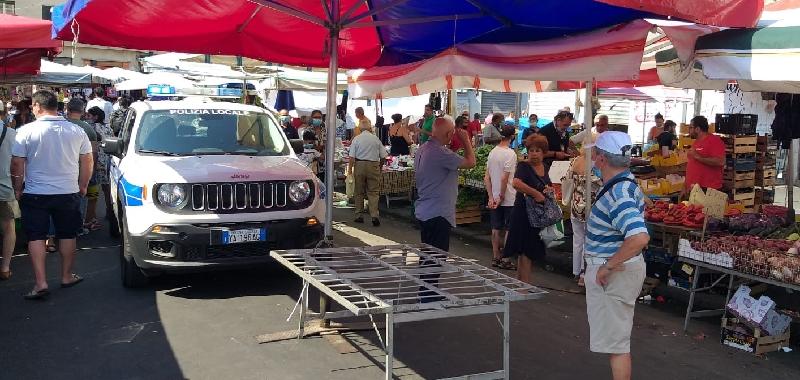 Norme anti Covid, più controlli a Catania