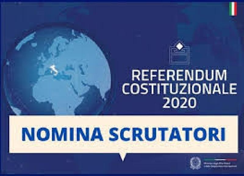 Catania: gli scrutatori per il referendum