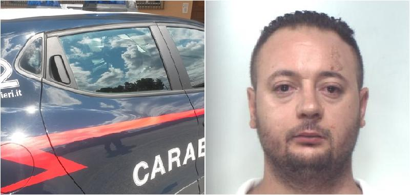 Insulta e aggredisce carabiniere: arrestato