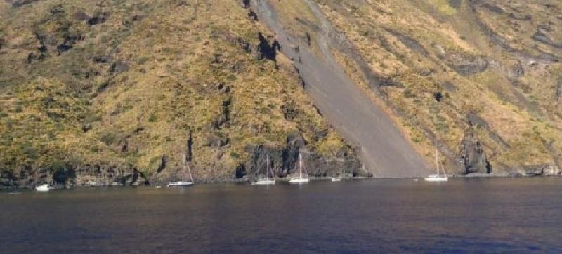 Sotto la Sciara del fuoco 27 yacht: stangati