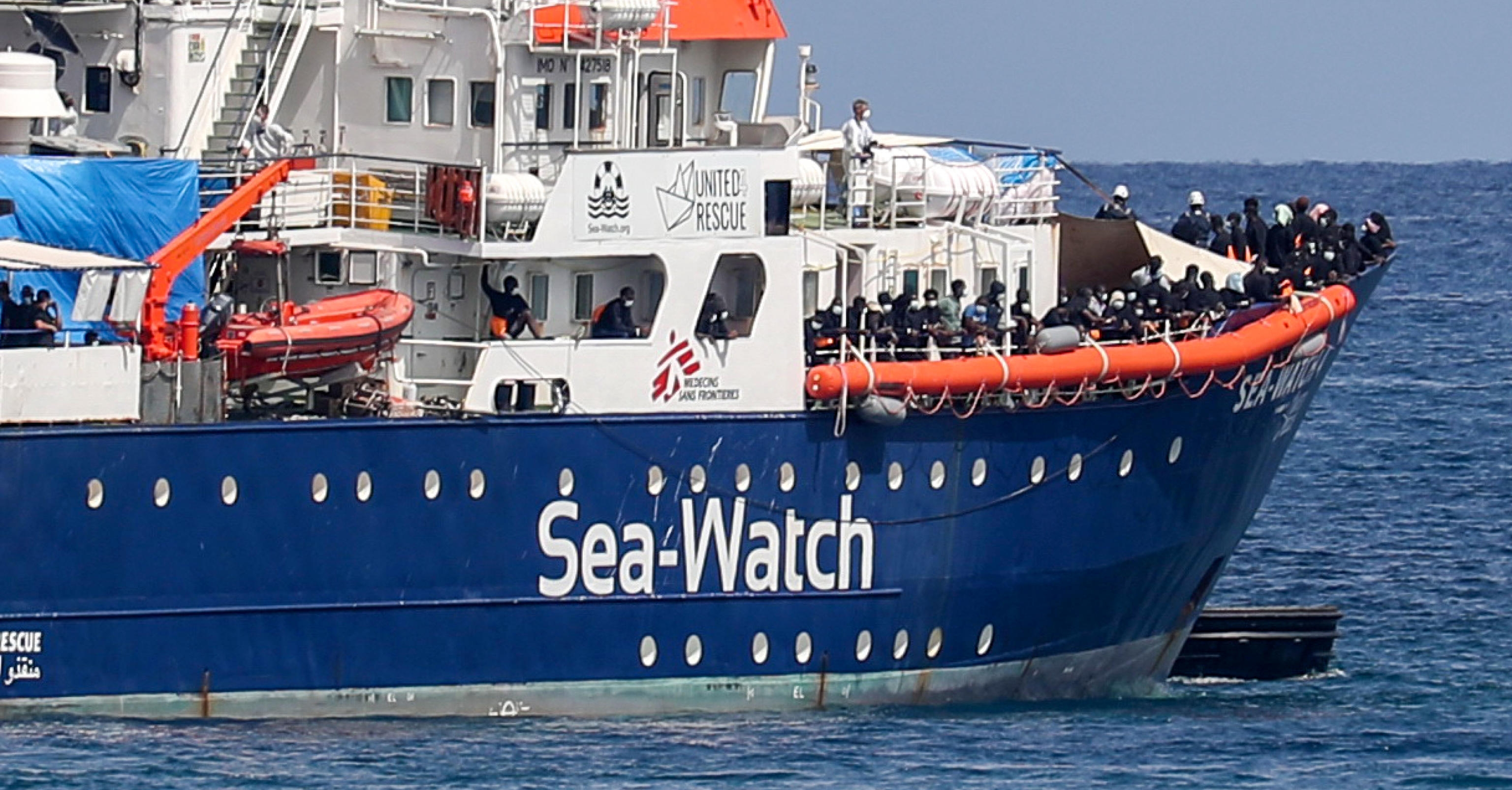 Fermo amministrativo per la Sea Watch 4