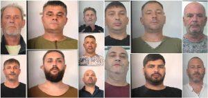 Rapine a tir e furti in appartamento: doppio blitz a Catania con 13 arresti