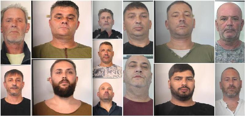 Rapine a camion e furti in appartamento: doppio blitz a Catania con 13 arresti
