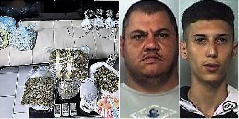 Bunker della droga a Librino, 2 arresti