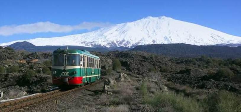 L'Etna perde i suoi treni