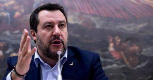 C'è Salvini, chiude la zona del tribunale