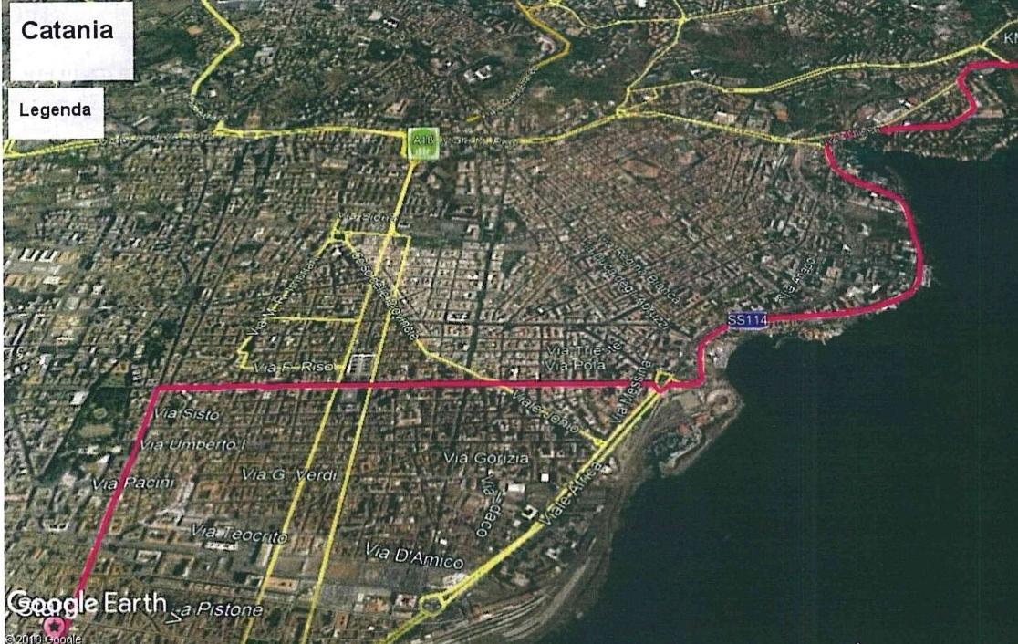 Giro d'Italia a Catania, ecco le vie off limits