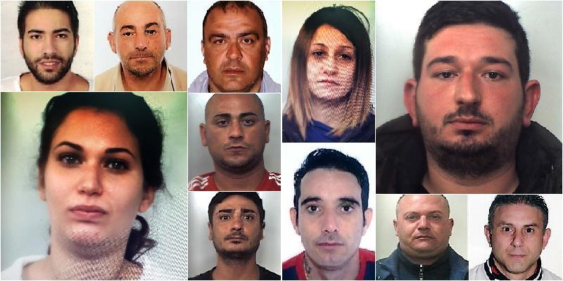 Spacciavano droga nei paesi etnei: quattro arresti e diciotto indagati
