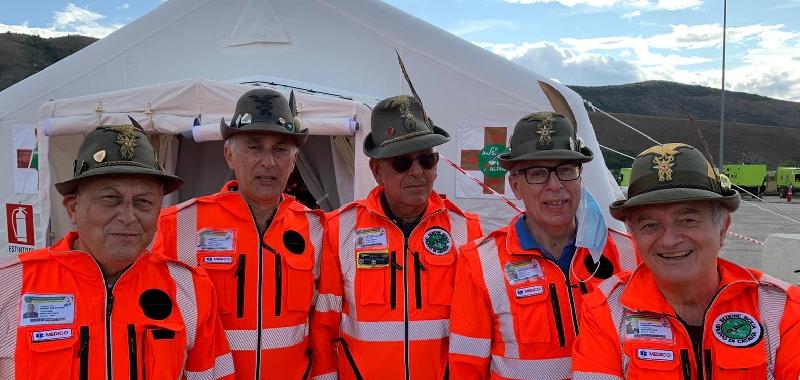 Cinque medici siciliani tra gli Alpini