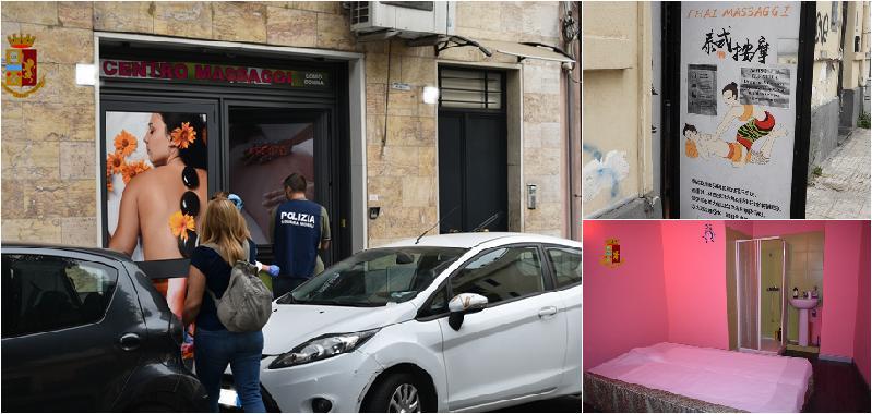 Catania, massaggi e sesso nei centri estetici