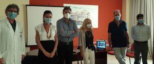 Siracusa, Consorzio limone dona ventilatore polmonare