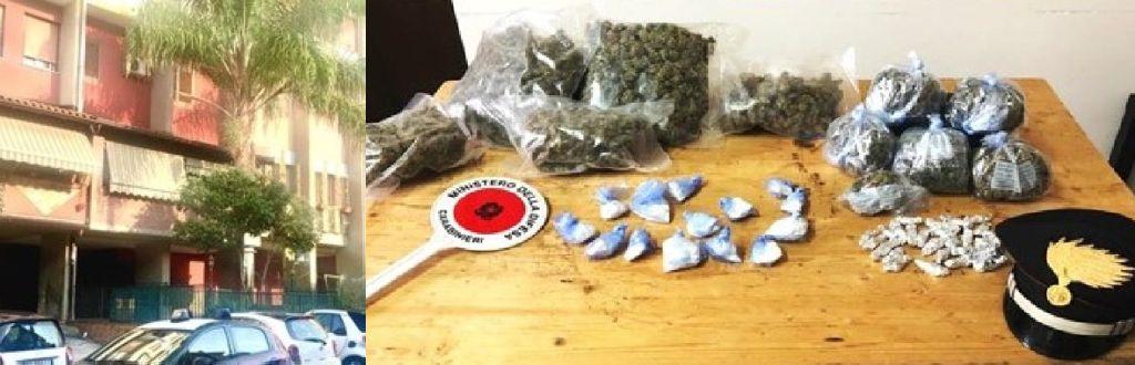 Droga in garage, catanese arrestata