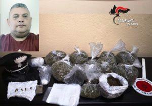 Giarre: la droga è nascosta, Ivan la scova