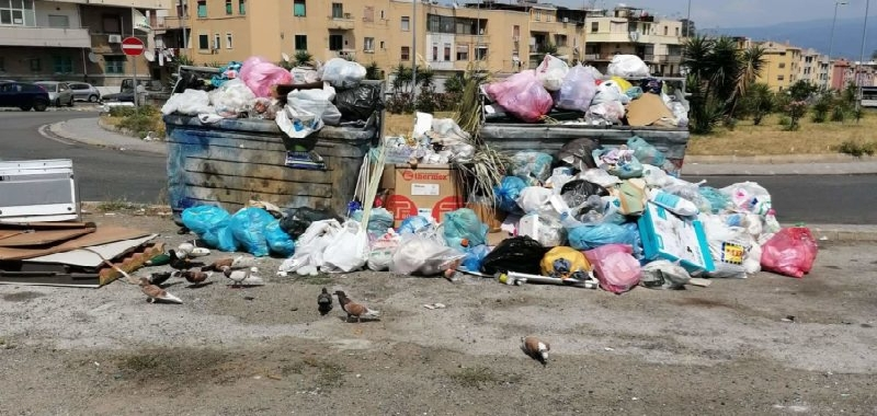 A Messina la guerra dei rifiuti
