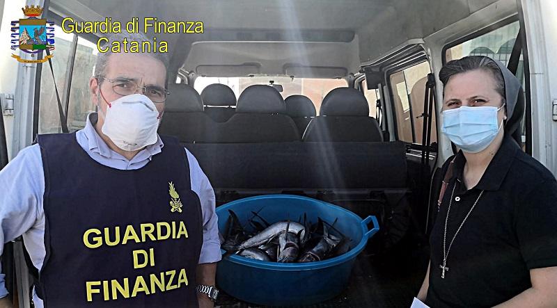 Catania, sequestrato pesce spada novello