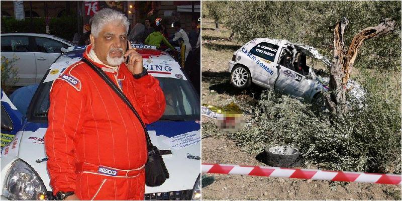 Tragedia al rally, muore copilota