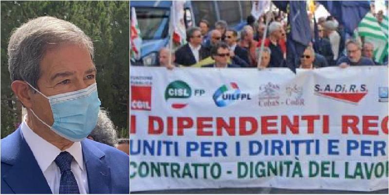"""Basta infamità da Musumeci"""