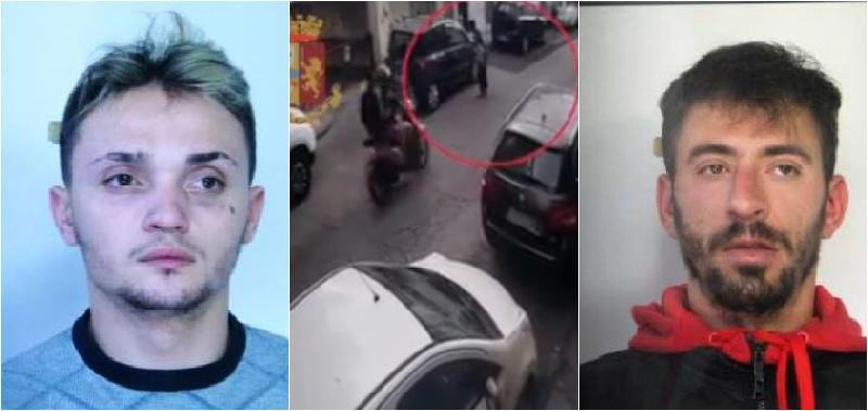 Catania, arrestati subito dopo lo scippo