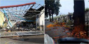 Maltempo, gravi danni a Catania sud. Chiuso il cimitero di Acquicella