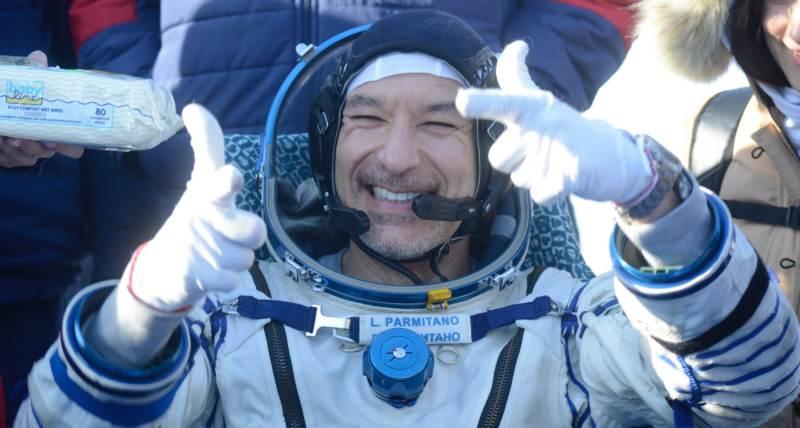 Con Parmitano a passeggio nello spazio