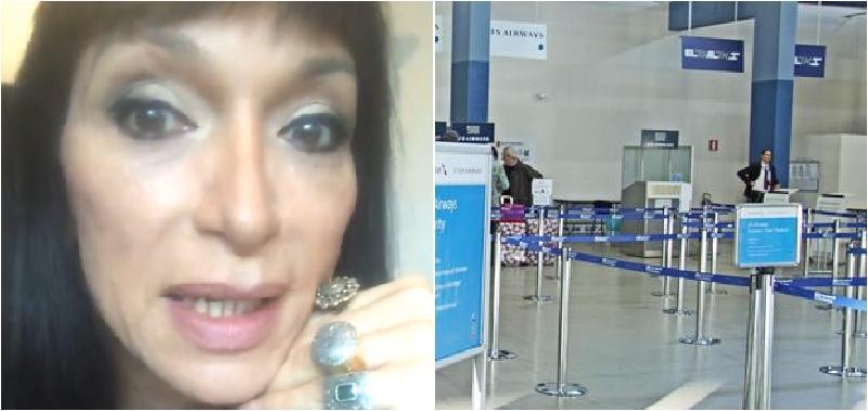 """Catania, Cori Amenta insultata in aeroporto durante i controlli: """"Veni cca, ci su calamari"""""""