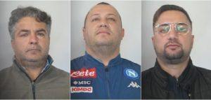 Estorsione ad imprenditore, tre arresti
