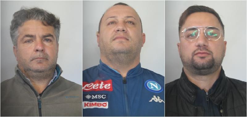 Estorsione a imprenditore, tre arresti