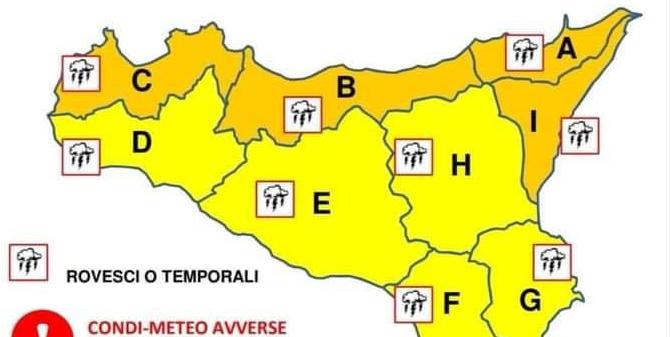 Allagamenti a Palermo, isolate le Eolie