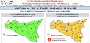 """Maltempo in peggioramento in Sicilia: """"Possibili alluvioni nella zona orientale"""""""