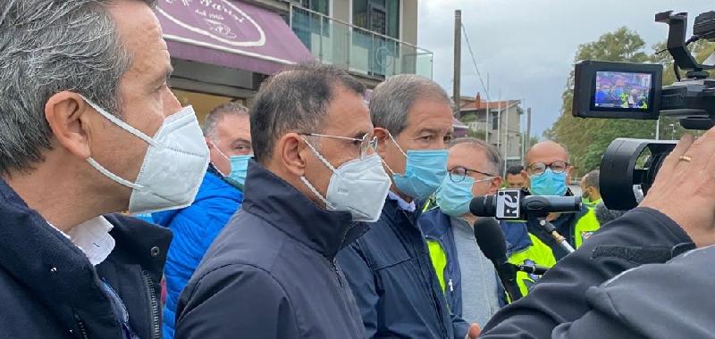 """Maltempo a Catania, danni per 5 milioni. Musumeci: """"Subito lo stato di calamità"""""""