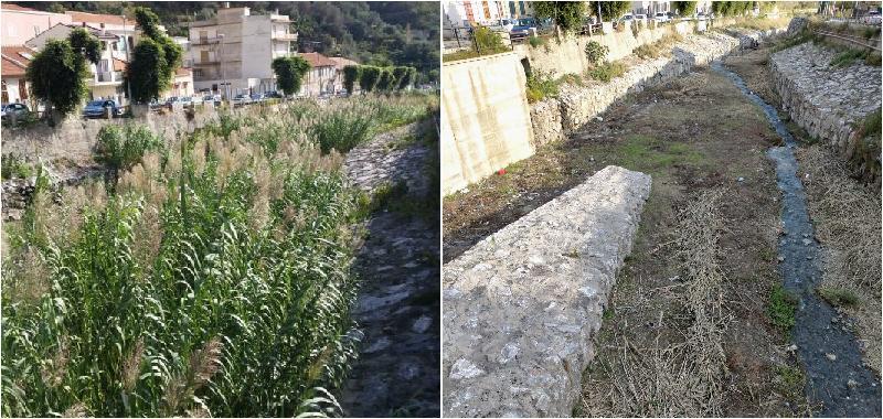Messina, ripulito il torrente Giampilieri