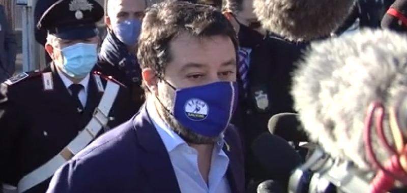 """Processo Gregoretti, Salvini si difende: """"Rivendico quello che ho fatto"""""""