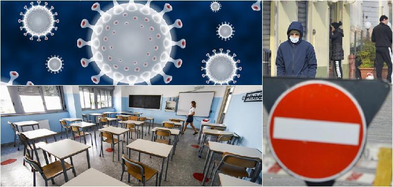 Italia zona rossa il prossimo weekend, in bilico riapertura scuole superiori