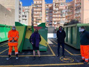 A Catania un'altra isola ecologica