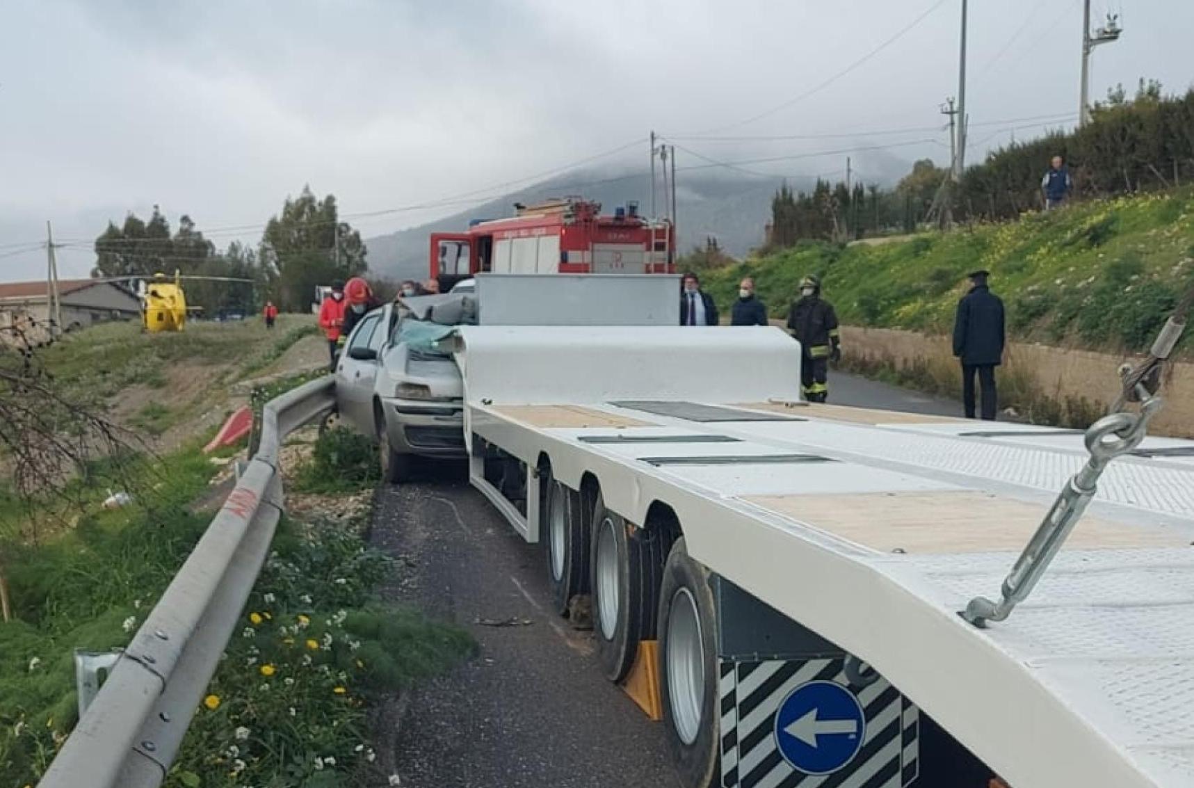 Scontro a Cammarata, morto dopo 9 giorni