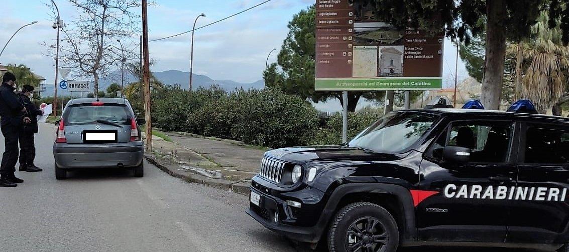 Vìolano zone rosse, quattro giovani multati
