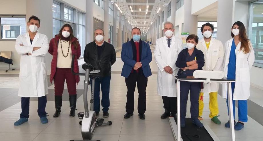 Al San Marco di Catania riabilitazione respiratoria post Covid con la telemedicina