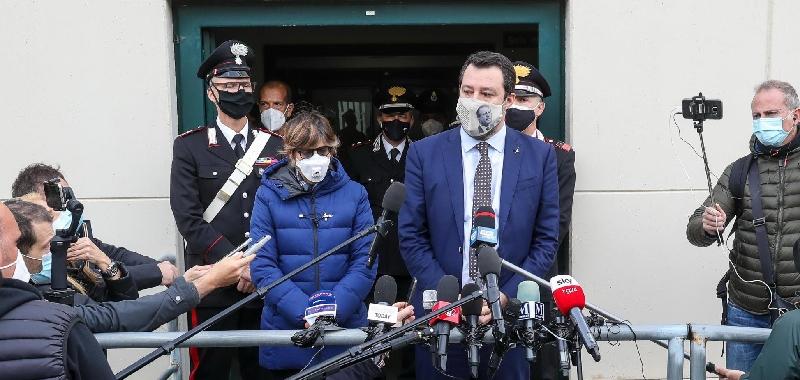 """Open Arms, Salvini: """"Ho difeso le leggi"""""""